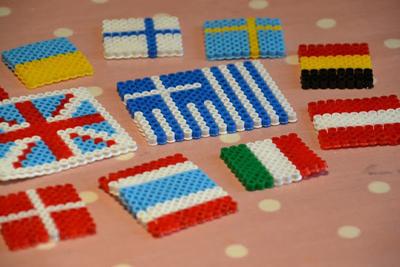 Поделки для детей украинский флаг